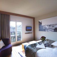 Отель Citadines Les Halles Paris Студия Делюкс с различными типами кроватей