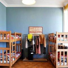 Хостел M42 Кровать в общем номере с двухъярусной кроватью фото 2