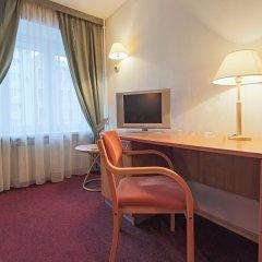 Андерсен отель 3* Улучшенный номер двуспальная кровать