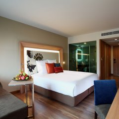 Отель Novotel Phuket Kamala Beach 4* Улучшенный номер с различными типами кроватей фото 2