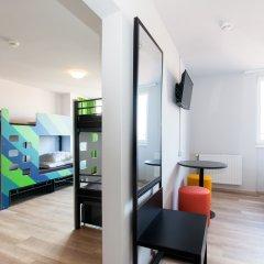 Отель A&O Prague Rhea 3* Стандартный номер с различными типами кроватей