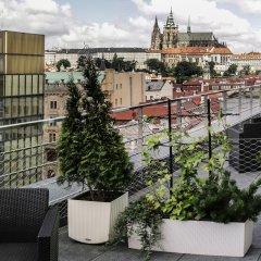 Отель Wenceslas Square Terraces Апартаменты Премиум с различными типами кроватей