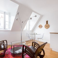 Отель onefinestay - Louvre Opera private homes Апартаменты с 2 отдельными кроватями
