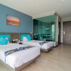 Отель The Blue комната для гостей фото 12