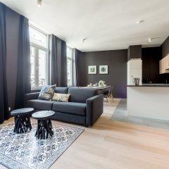 Отель Smartflats Design - Cathédrale 3* Апартаменты с различными типами кроватей