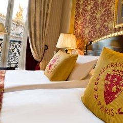 Отель Intercontinental Paris-Le Grand 5* Номер Делюкс фото 2