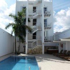Отель Terracaribe Hotel Мексика, Канкун - отзывы, цены и фото номеров - забронировать отель Terracaribe Hotel онлайн бассейн фото 2