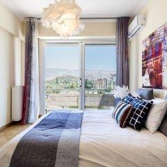 Отель Acropolis Luxury Suite Улучшенные апартаменты с различными типами кроватей