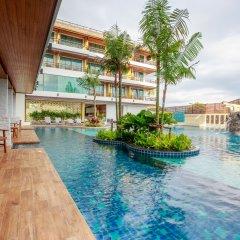 Отель Aqua Resort Phuket 4* Стандартный номер с двуспальной кроватью