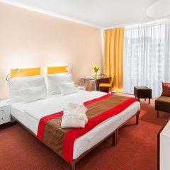 Отель Andel's by Vienna House Prague 4* Улучшенный номер с различными типами кроватей фото 5