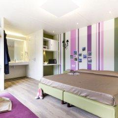 Отель Camping Village Roma Улучшенное бунгало с различными типами кроватей