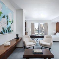 Отель The Langham, New York, Fifth Avenue Представительский номер с различными типами кроватей фото 4