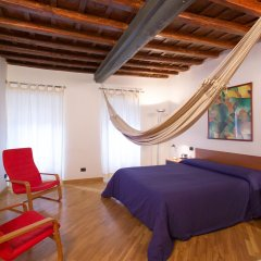 Отель Sunset Roma Улучшенные апартаменты с различными типами кроватей