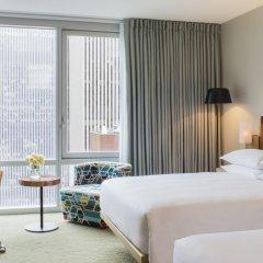 Отель Hyatt Times Square 4* Номер Делюкс с различными типами кроватей