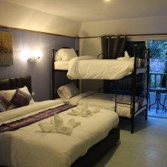 Samui Green Hotel 3* Стандартный семейный номер с двуспальной кроватью