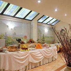 Best Western Hotel Mozart место для завтрака
