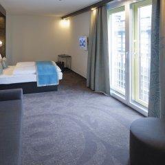 Отель Motel One Berlin KuDamm 3* Номер Бизнес с различными типами кроватей