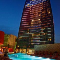 Отель Fairmont Baku at the Flame Towers вид на фасад фото 2