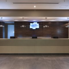 Гостиница Holiday Inn Almaty вестибюль