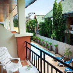 Отель First Resort Albergo балкон фото 2