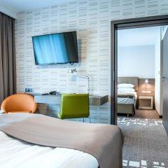 Q Hotel Plus Wroclaw 4* Стандартный номер с различными типами кроватей фото 3