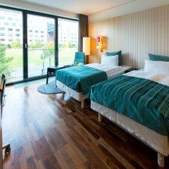 Отель Scandic Berlin Potsdamer Platz 4* Улучшенный номер с разными типами кроватей фото 4