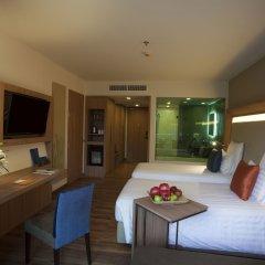 Отель Novotel Phuket Kamala Beach 4* Улучшенный номер с 2 отдельными кроватями