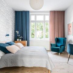 Апартаменты Sanhaus Apartments - Fiszera Люкс с различными типами кроватей фото 2