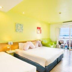Отель Best Bella Pattaya 4* Номер Делюкс с различными типами кроватей