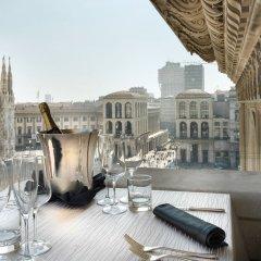 Отель TownHouse Duomo столовая на открытом воздухе