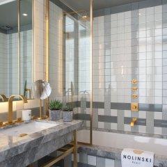 Отель Nolinski Paris Франция, Париж - 1 отзыв об отеле, цены и фото номеров - забронировать отель Nolinski Paris онлайн ванная фото 2