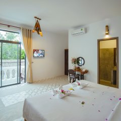 Отель Hoi An Rustic Villa 2* Номер Делюкс с различными типами кроватей