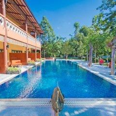 Отель Baan Suan Resort открытый бассейн