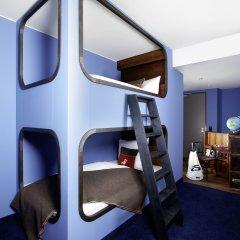 25hours Hotel HafenCity 4* Каюта разные типы кроватей