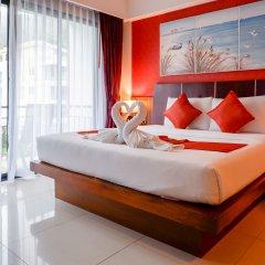 Отель Di Pantai Boutique Beach Resort 4* Номер Делюкс с разными типами кроватей