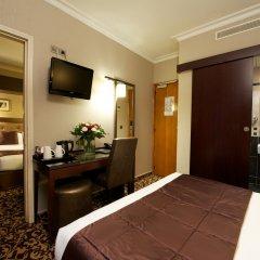 Отель Abbatial Saint Germain 3* Стандартный номер с двуспальной кроватью