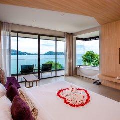 Отель Kalima Resort & Spa, Phuket 5* Семейный номер с видом на море с различными типами кроватей фото 3