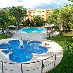 Отель Courtyard By Marriott Cancun Airport открытый бассейн фото 3