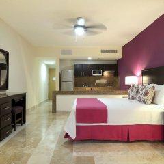 Отель Canto del Sol Plaza Vallarta Beach & Tennis Resort - Все включено 3* Студия Делюкс с различными типами кроватей