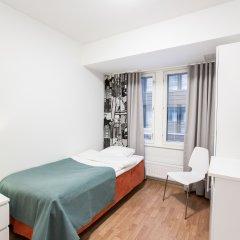 Отель Forenom Aparthotel Helsinki Herttoniemi Стандартный номер с различными типами кроватей