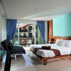 Отель Baan Karon Resort 3* Улучшенный номер с различными типами кроватей