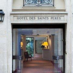 Hotel Des Saints Peres вид на фасад фото 2