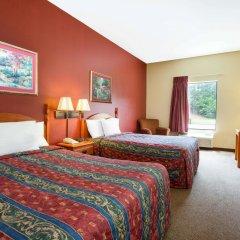 Отель Howard Johnson by Wyndham University of Alabama Tuscaloosa 2* Стандартный номер с 2 отдельными кроватями