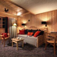 Отель M de Megève 5* Люкс с различными типами кроватей