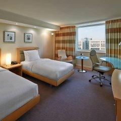 Отель Hilton Düsseldorf 5* Стандартный номер разные типы кроватей фото 2
