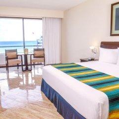 Отель Crown Paradise Club Cancun - Все включено Мексика, Канкун - 10 отзывов об отеле, цены и фото номеров - забронировать отель Crown Paradise Club Cancun - Все включено онлайн комната для гостей фото 4