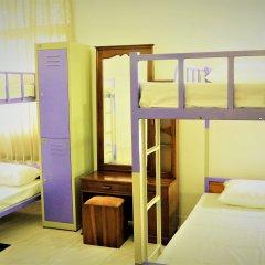 Хостел EOS Кровать в женском общем номере с двухъярусной кроватью