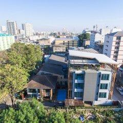 Отель Nest By Sa-ngob Бангкок балкон