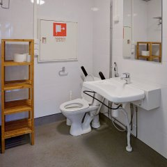 Отель CheapSleep Helsinki ванная