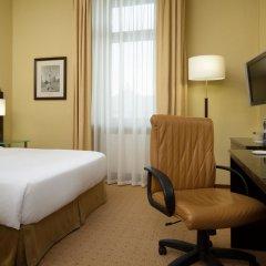 Гостиница Hilton Москва Ленинградская 5* Гостевой номер Hilton с различными типами кроватей фото 3